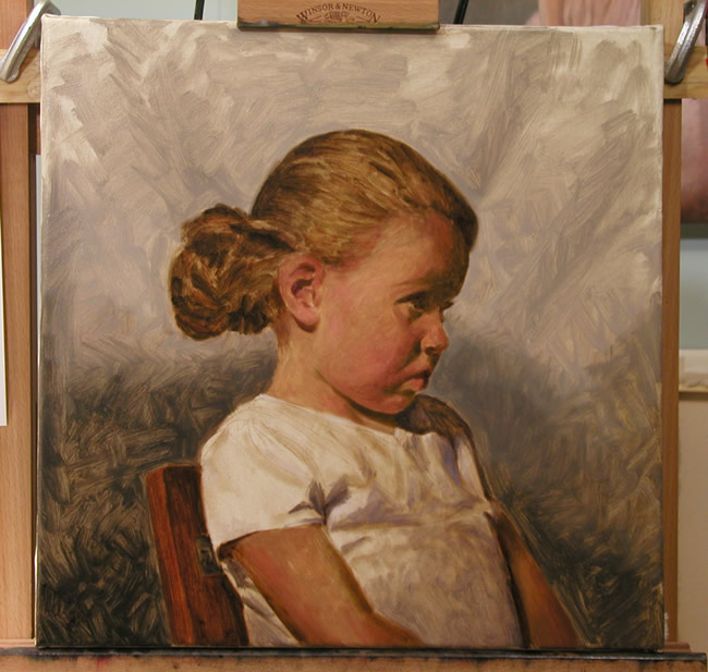 oil portrait tutorial
