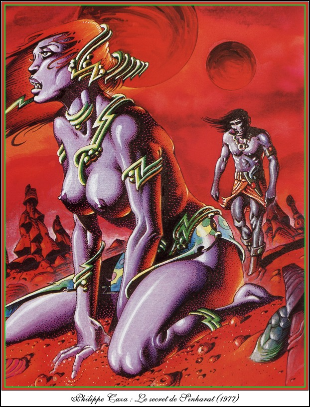 illustrations by Philippe Caza