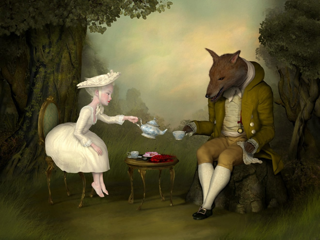 surrealism art by ray caesar