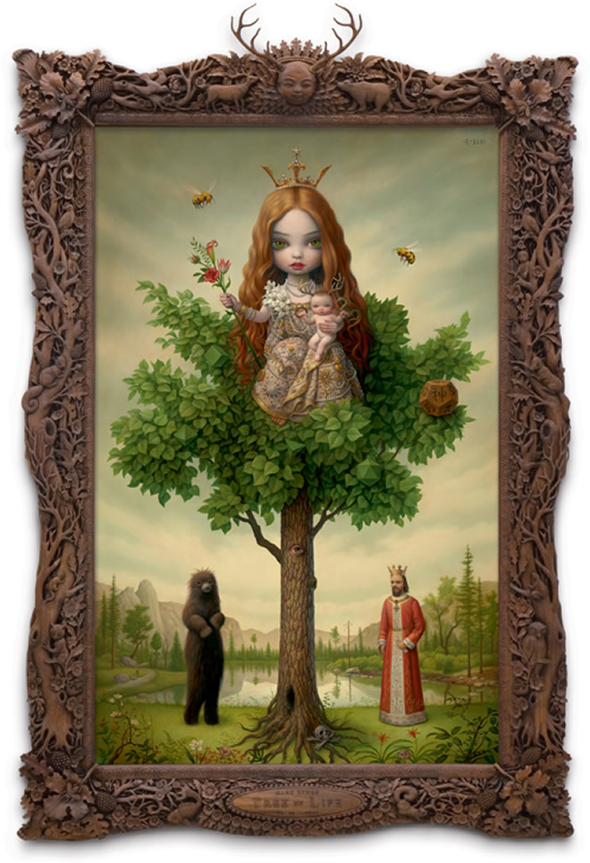 surrealism art by Mark Ryden, illustrations