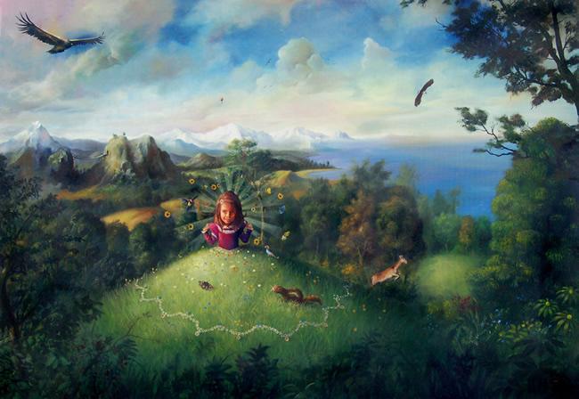 Jose luis serzo pintor surrealista espa ol pintura - Pintores de madrid ...